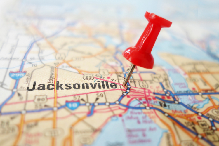 Florida Map Jacksonville.Jacksonville S Safest Neighborhoods Scott Alarm